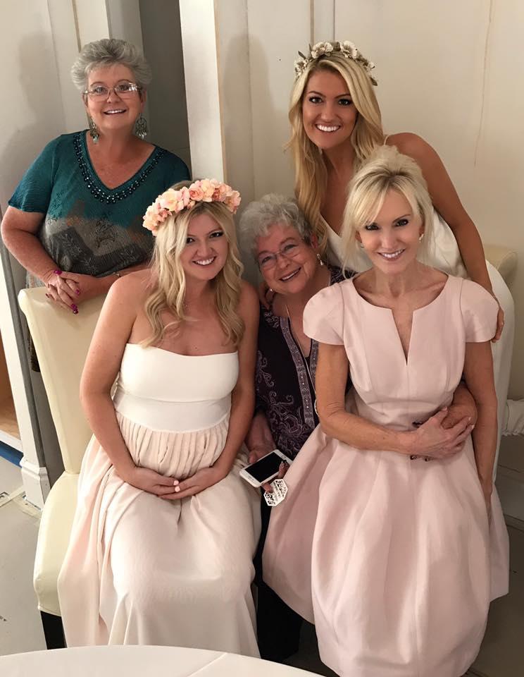 Soon to be: Great Auntie, Mom, Great Gramma aka Gigi, Grandma, & Auntie