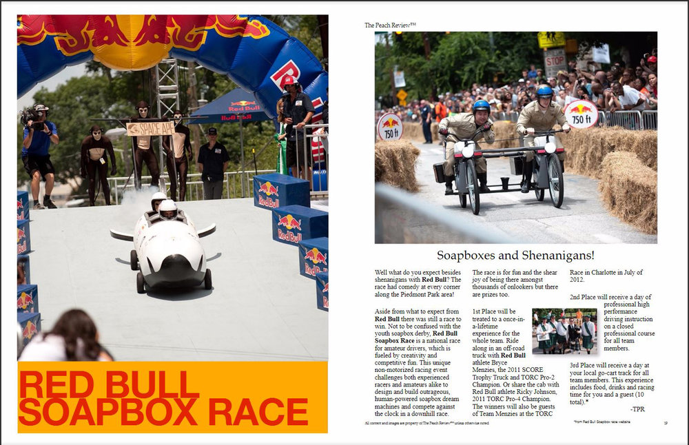 The Peach Review  Red Bull Soapbox Race