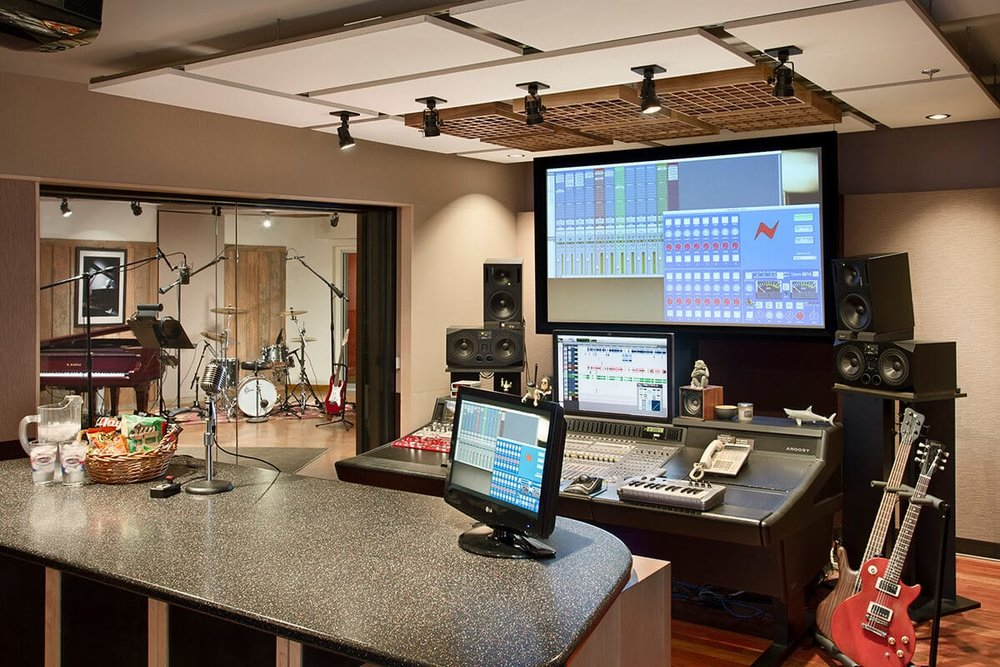 Studio C - Control Room + Booth