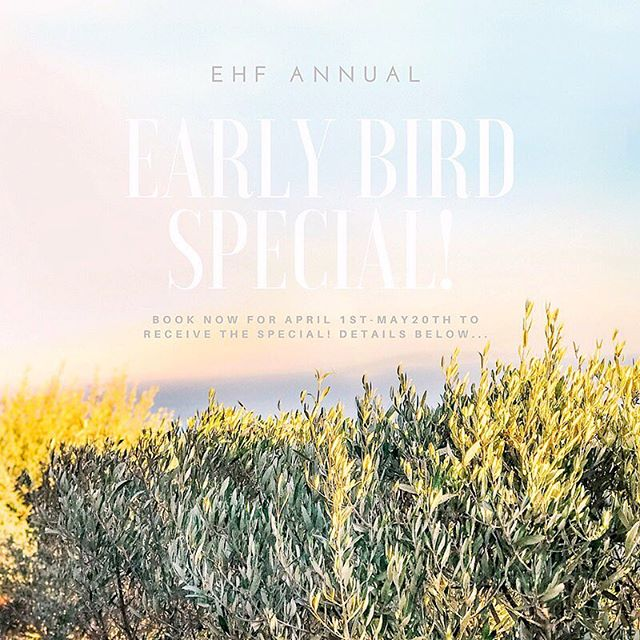 "It's heeeeeeere!!! The EHF ANNUAL SPRING SPECIAL is back, and it's time to kick of the spring season with a little EHF love! BOOK NOW for April 1st-May 20th to receive the special!  Let's mix things up a little this year! The first person to book from this post will receive a free 16x20 fine art canvas gallery wrap! The second and third will receive a $200 print bonus, and the fourth and fifth will receive a $175 print bonus!! Everyone else who books during this time will receive a $125 print bonus.  Please ""LIKE"" AND ""SHARE"" THIS fb POST, and follow me on Instagram @emilyfleming143 below TO RECEIVE THE SPECIAL! To request a detailed price sheet, please email me via the contact page at ehfphotography.com. ☺️ Minimum print commitment does apply; print bonuses can be used once the minimum print commitment is met. Limited availability; bookings are on a first come, first serve basis.  Have a wonderful day! Hope to see you soon!  Xo,  Em"