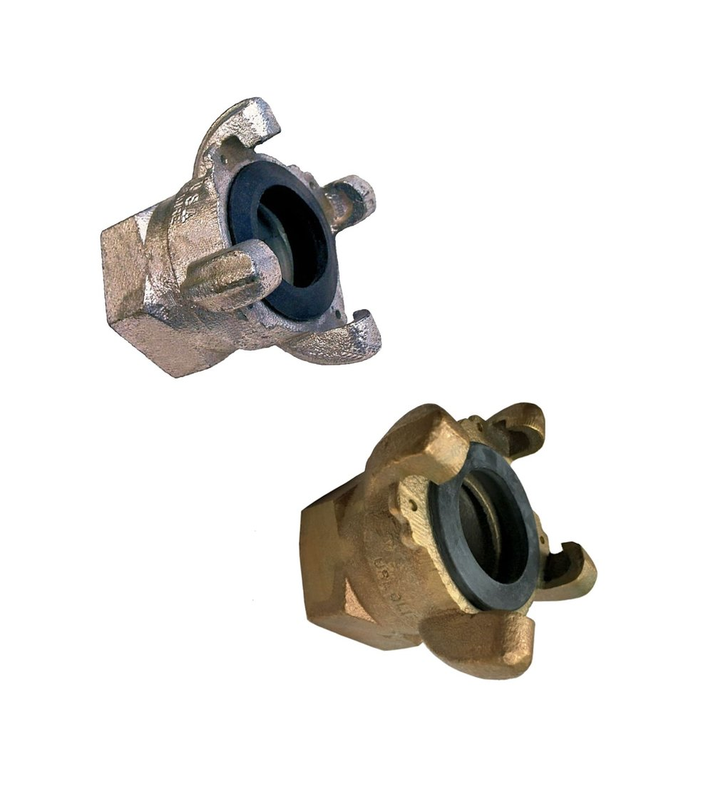 "4-Lug Crowsfoot Chicago Coupling - 1-1/4"" through 2"" size"