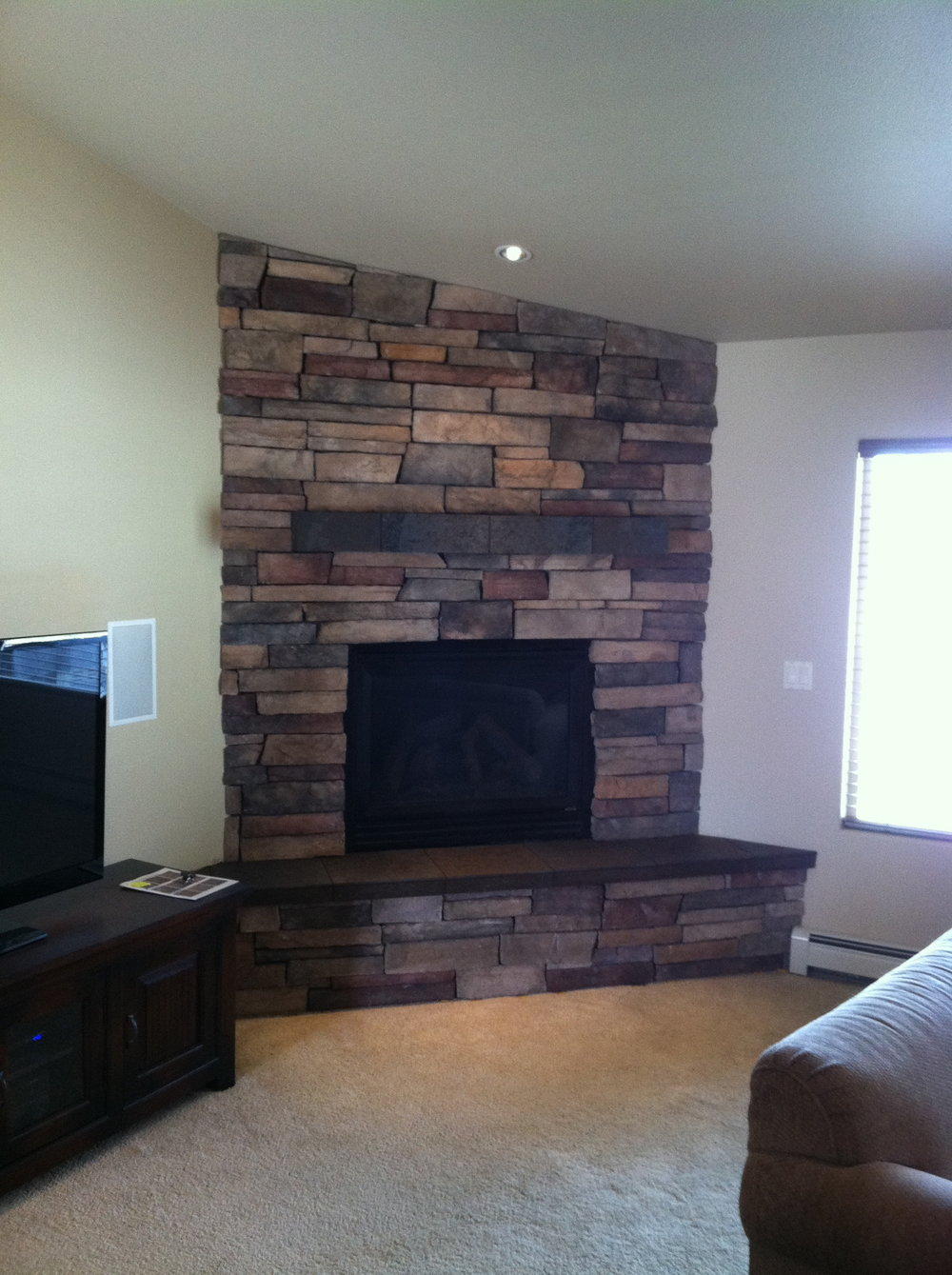 photos tv captivating painted with fireplaces fireplace rock