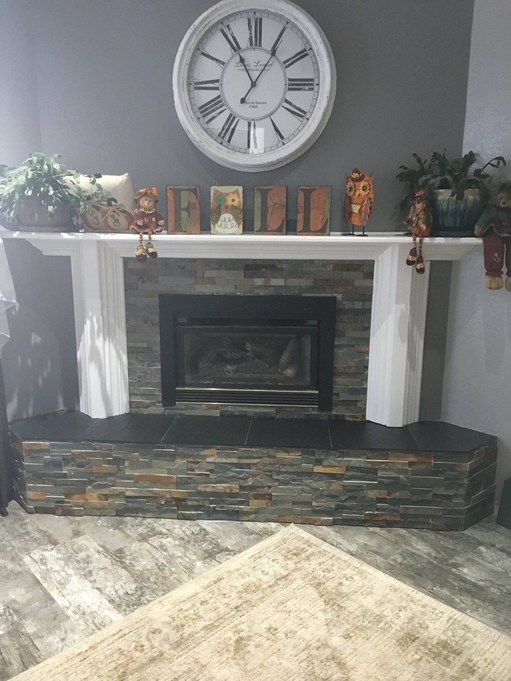 fireplaces rock u2014 hansow tile