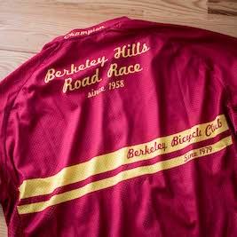 BACK - BHRR winner's jersey.