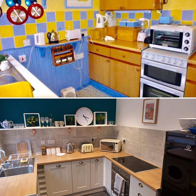 #beforeandafter #renovation #refurbished #interior #kitchen #refurbish