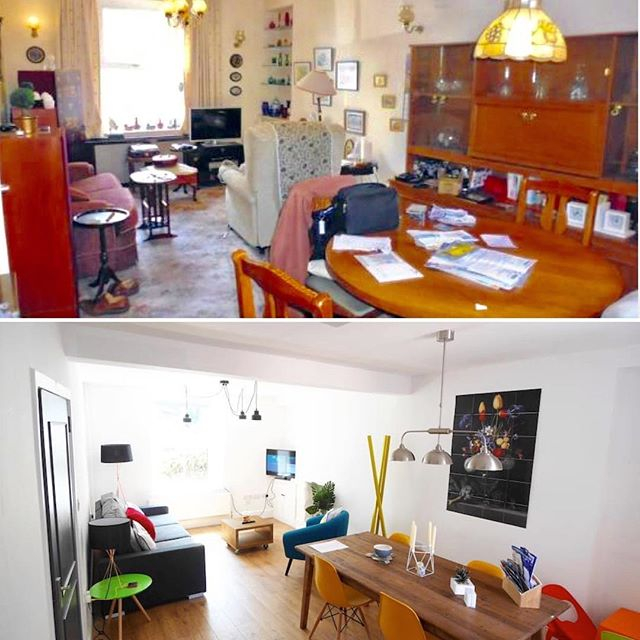 #beforeandafter #refurb #interiordesign
