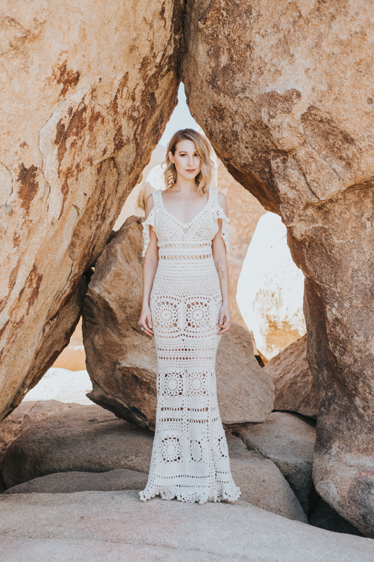 """Voyage LA - Sept 11""""I am proud of the fact that I am doing something that no one else in the world is doing. Though there are many crochet designers, I have not seen another designer with a similar style."""""""