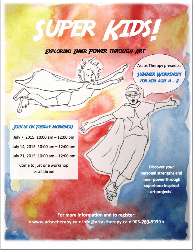 Super Kids! Exploring inner power through art.