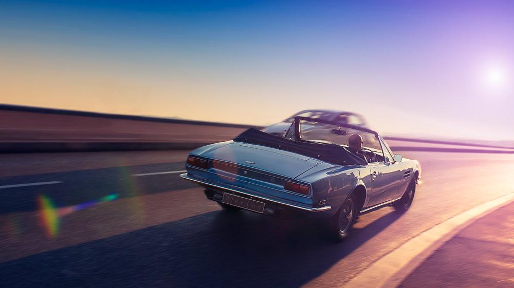 ASton martin vantage - Finaliste d'un concours dont le thème portait, sans surprise, sur les voitures.