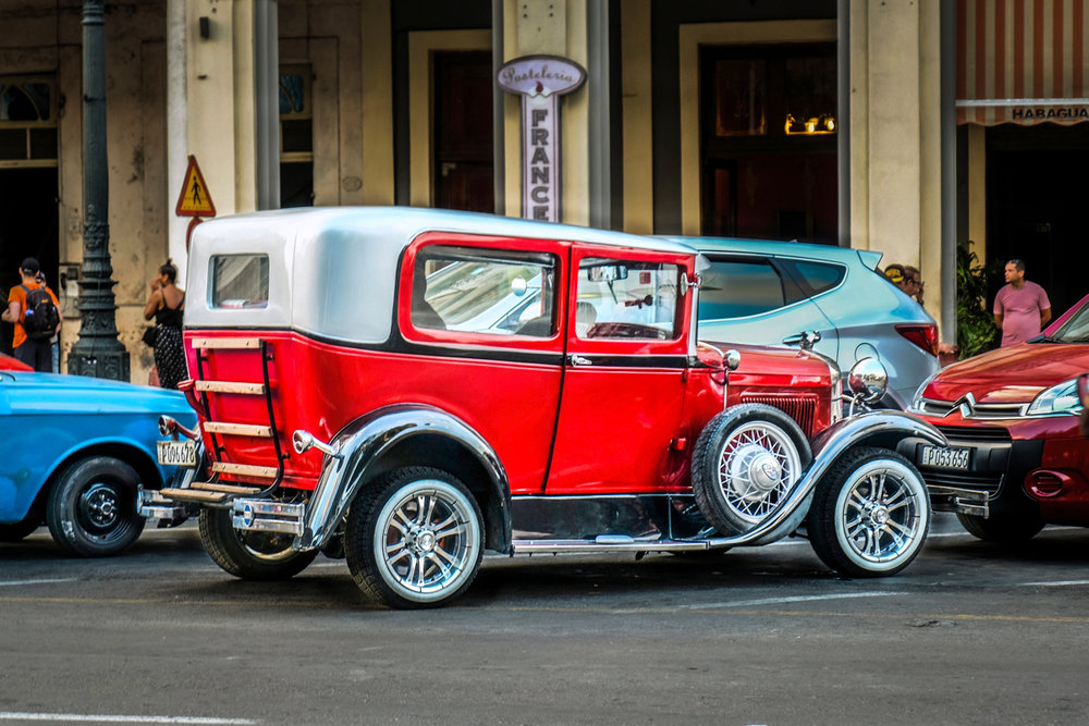 Vintage Auto cuba
