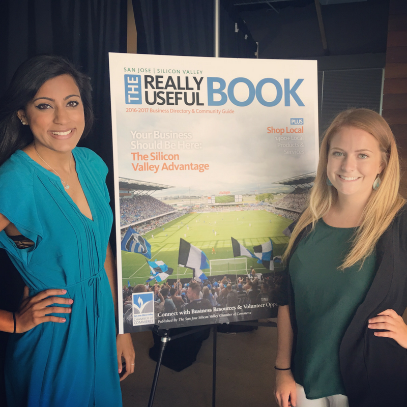 2016 Communications & Events Interns. Left: Eva Chotani, San Jose State University and Allison Bussey, Oregon State University.