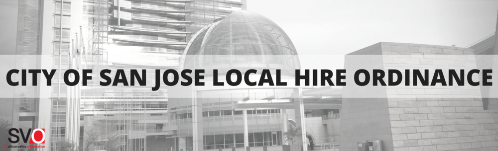 City of San Jose Local Hire Ordinance