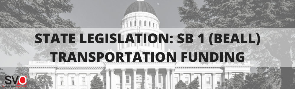 State Legislation: SB 1 (Beall) Transportation Funding