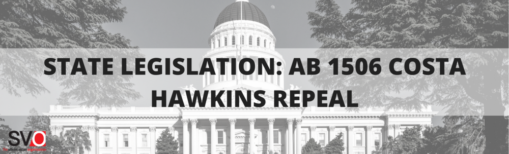State Legislation: AB 1506 Costa Hawkins Repeal