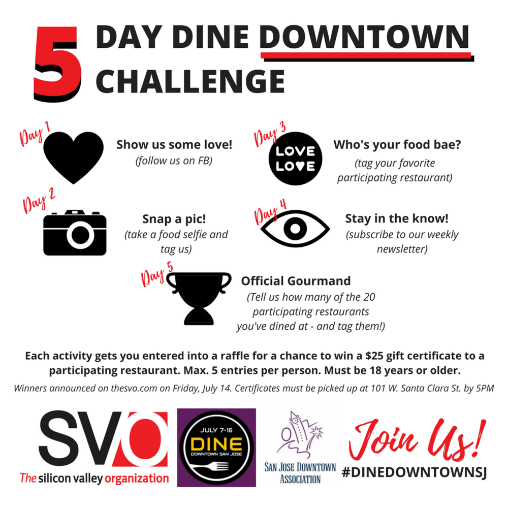 Dine Downtown San Jose 2017