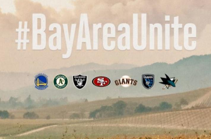 Bay Area Unite Napa Sonoma Fires