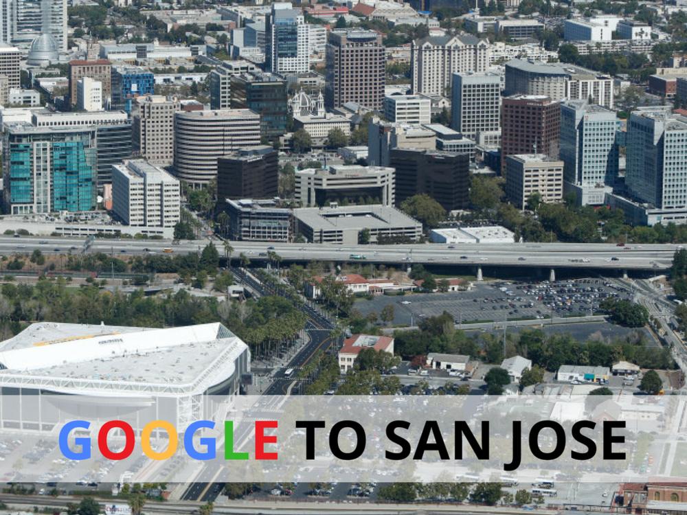 Google The Silicon Valley Organization San Jose