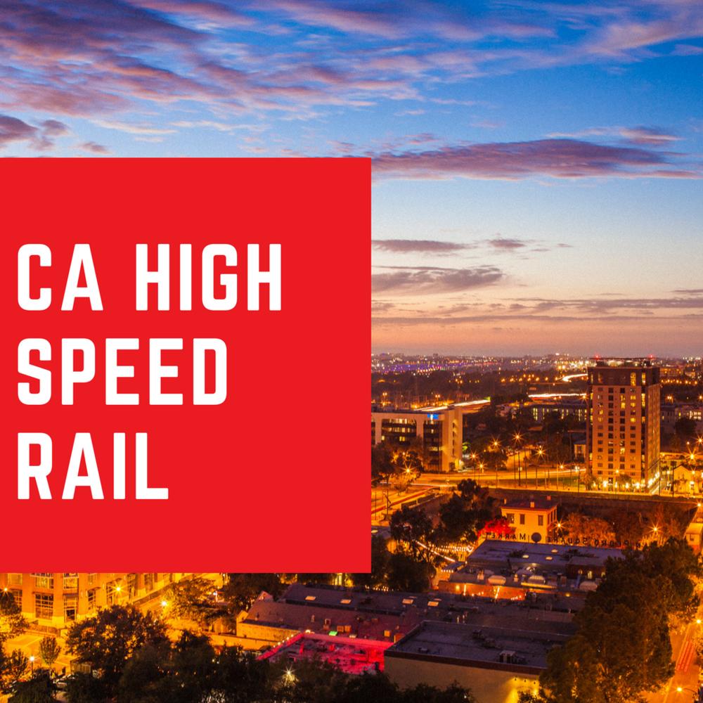 CA High Speed Rail The Silicon Valley Organization
