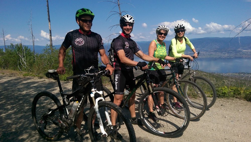 Meet our Guides and the... GIRO OKANAGAN FAMILY    Learn More