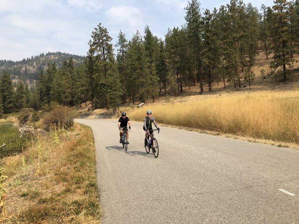 Ride the Okanagan Highlands