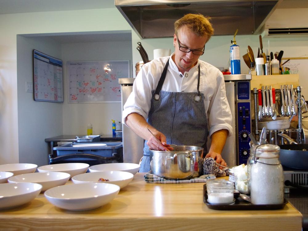 Chef Chris Van Hooydonk