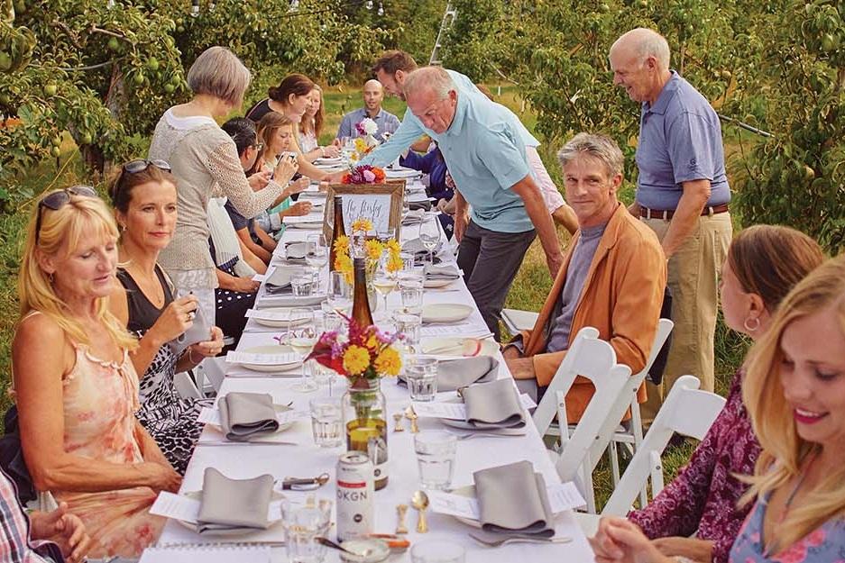 A Giro Hosted Harvest Dinner