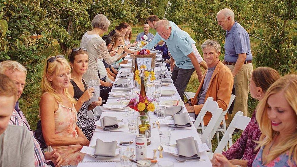 A Hosted Harvest Dinner