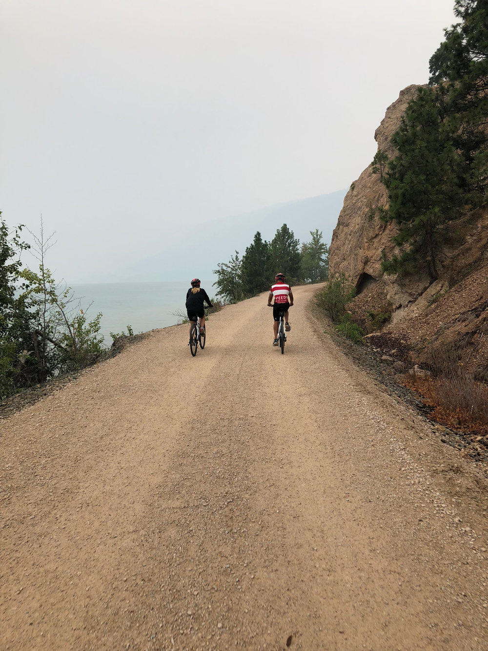 A Lovely Ride along Kalamalka Lake on the   OKANAGAN RAIL TRAIL