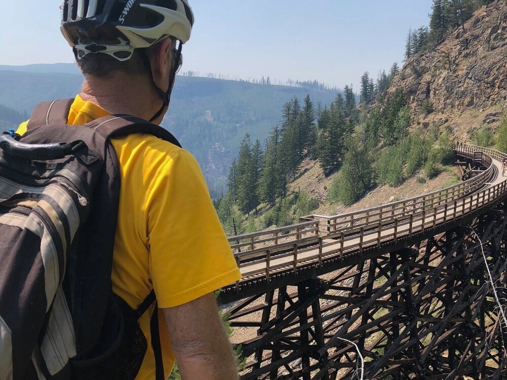 Myra Canyon and the KVR Trestles