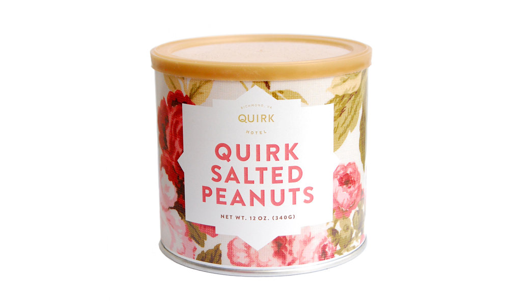 Quirk Peanuts, 12 oz,  exclusively from Hubs Virginia Peanuts,  $9    Contact us for purchase