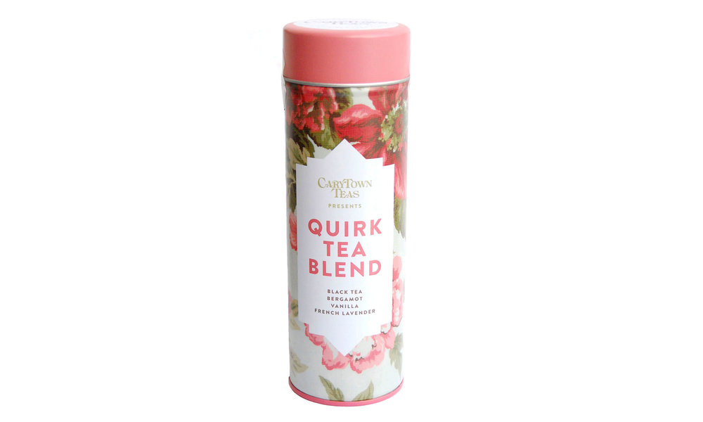 Quirk Loose Leaf Tea,  exclusively from Carytown Teas,  $18    Contact us for purchase