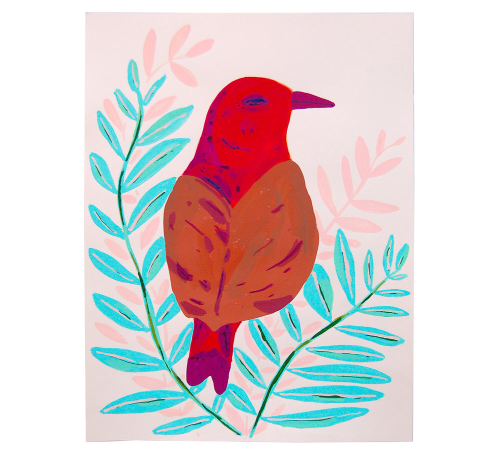 Copy of Red/Brown Bird