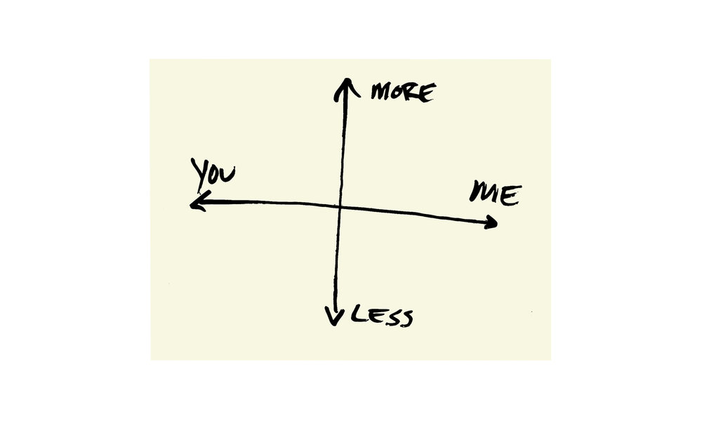 """You Me More Less (Axial),silkscreen on paper, 19"""" x 25"""", $1500 (framed) Contact us for purchase"""