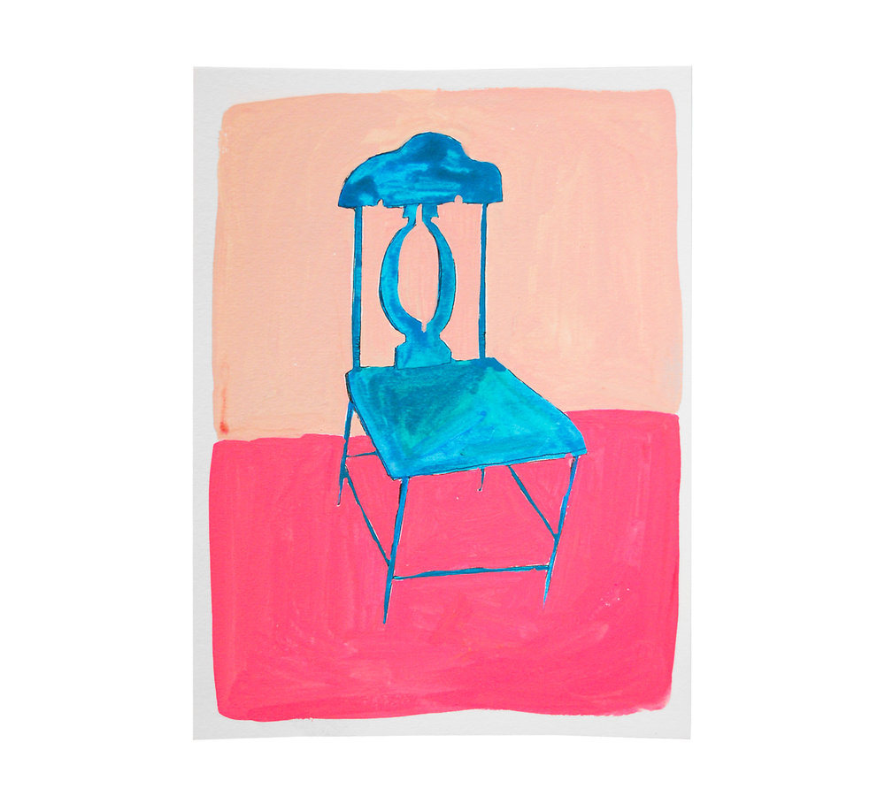Copy of Blue Chair