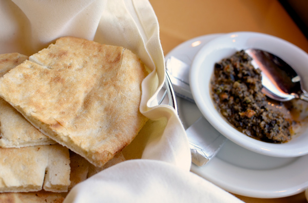 Bread & Olive Tapenade