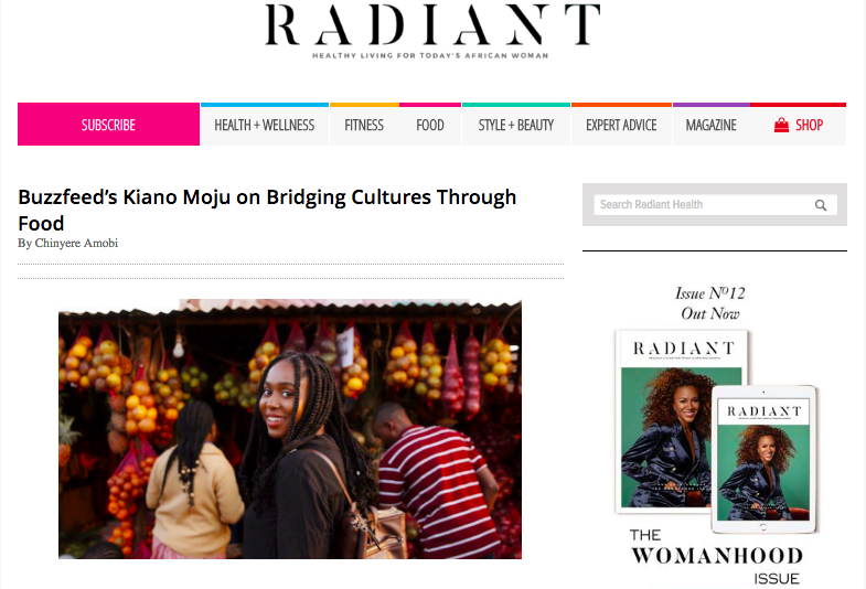 Radiant Health Magazine - Read the article here…