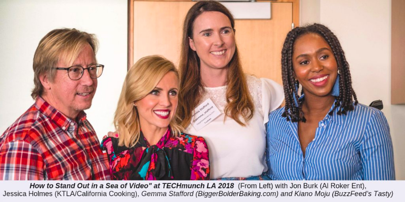 TechMunch L.A. - Panelist at the 2018 TechMunch conference.
