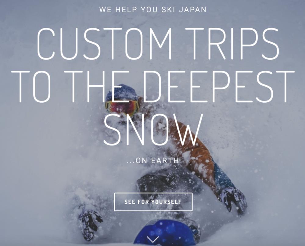 snowlocals landing page