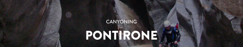 Pontirone Canyon