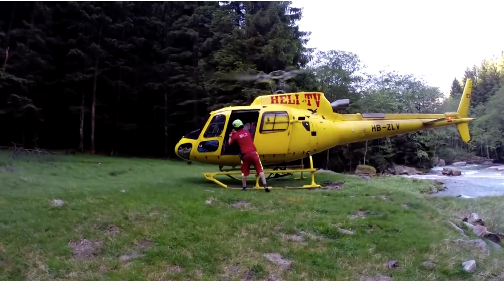 Ticino Adventures heli-canyoning