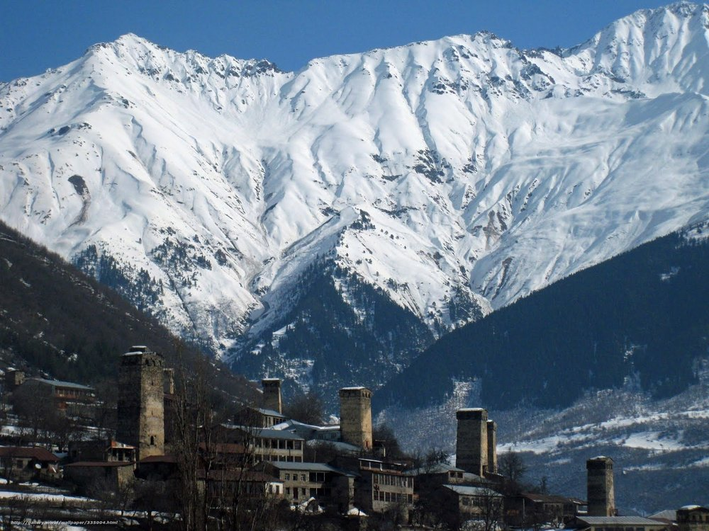 svaneti mountains