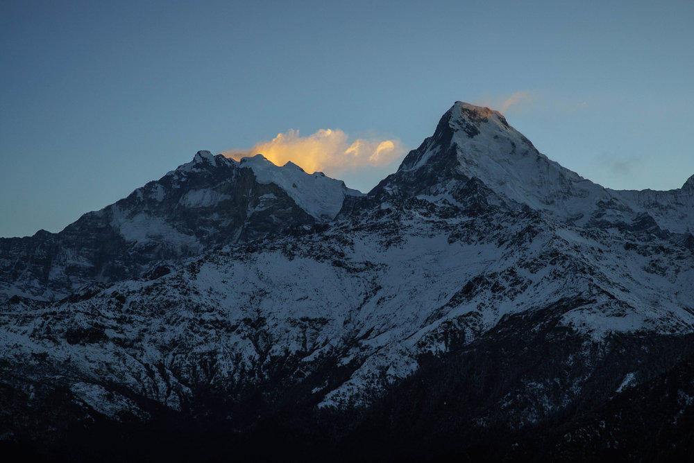 Annapurna as seen from Poon Hill