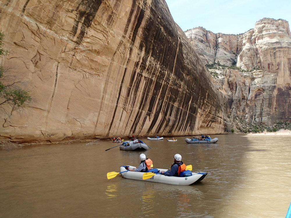 Rafting the Yampa river - 4-6 days