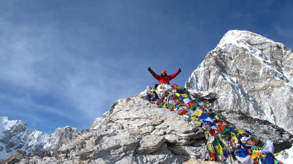 Kala Patthar on the EBC Trek. photo by Stefanos N