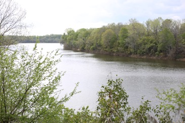 View of the Coosa River from Fort Toulouse