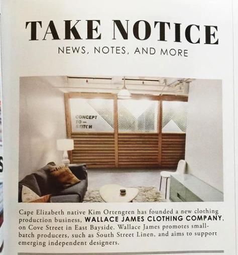Take Notice - Old Port Magazine