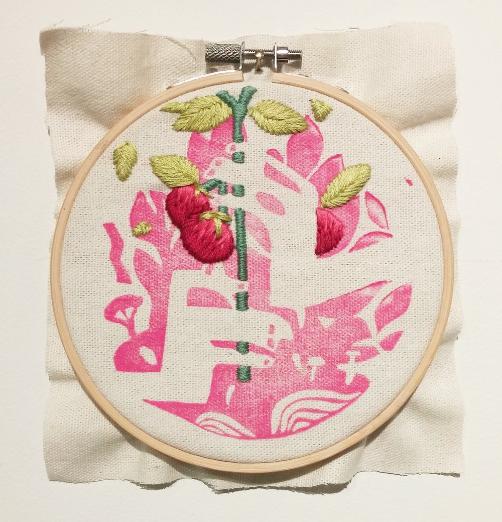 "1/3 ""Home Series"" Embroideries"
