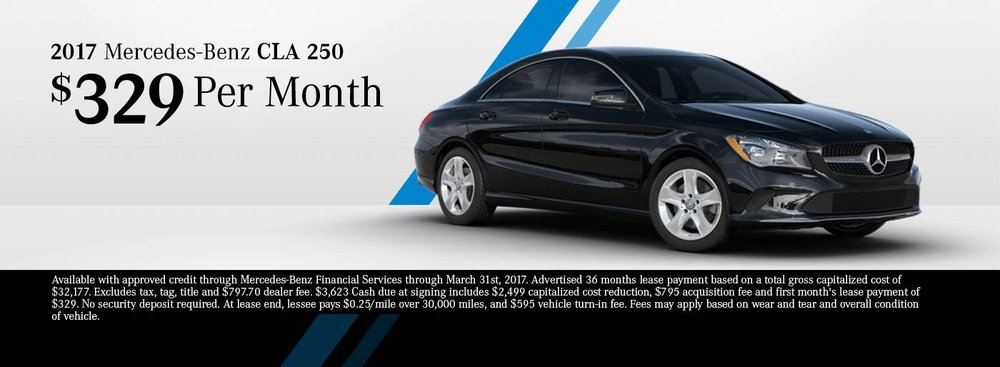 Mercedes Benz Lease Ad