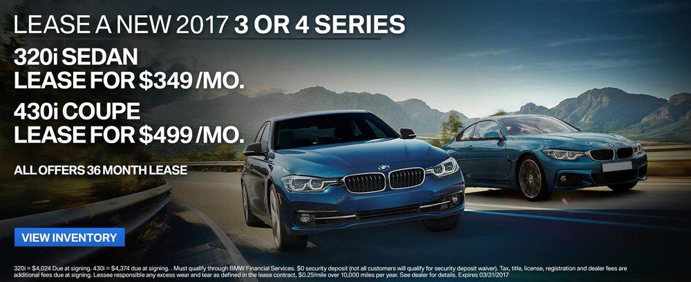 BMW Lease Ad