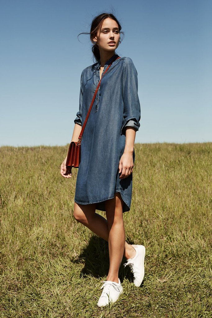 1. The Kari Shirt Dress